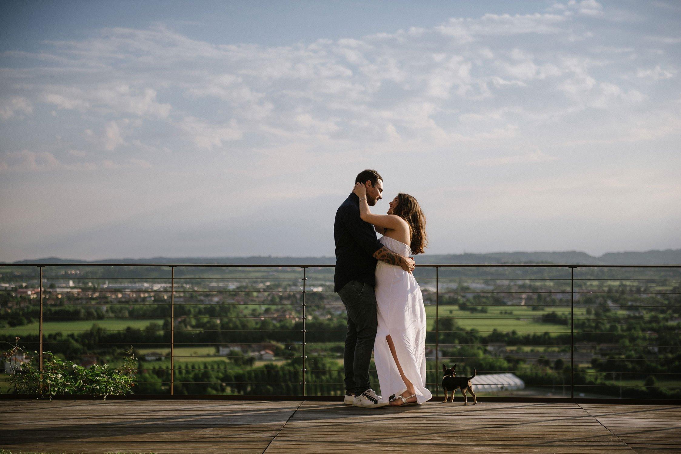 Ritratto di Famiglia. Foto Maternità Elisa e Alessandro. Location Al Castelletto Luisa Basso Wedding Photographer. Italian Wedding photographe