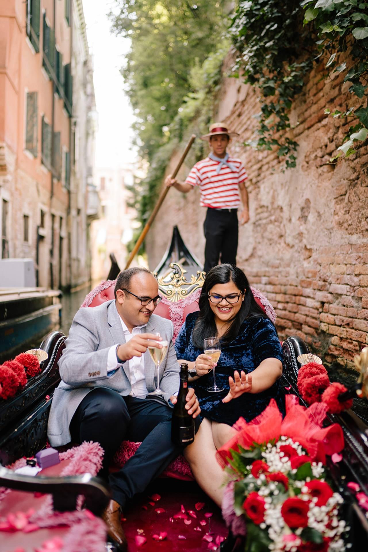 Proposta di matrimonio a Venezia